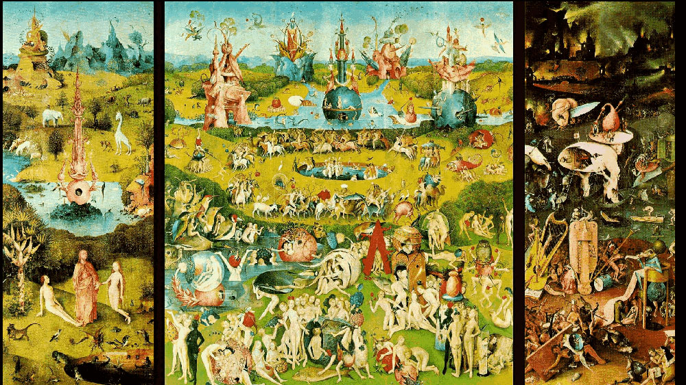 Art History , The Garden of Earthly Delights, Hieronymus