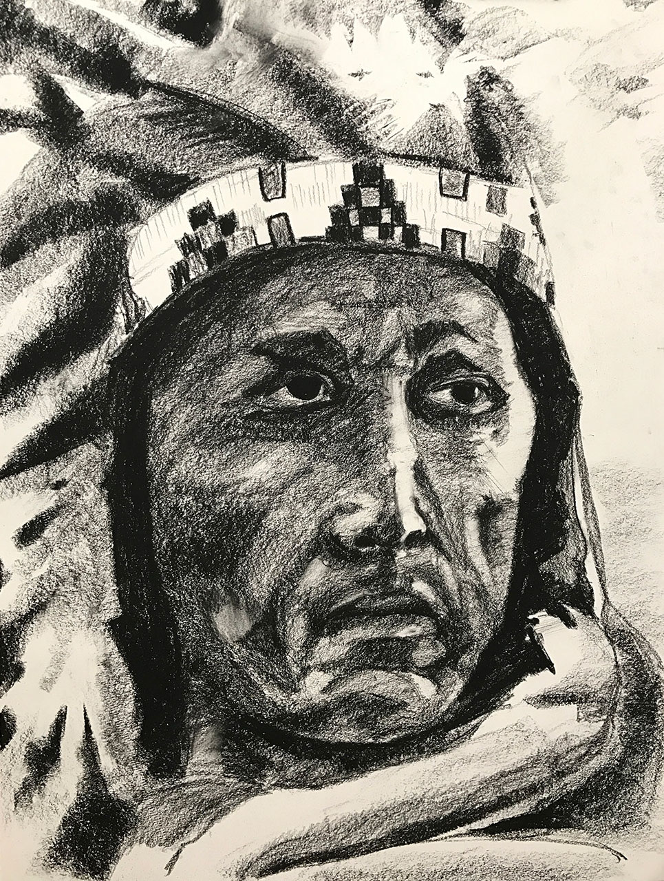 Master Copy - Native American Chief