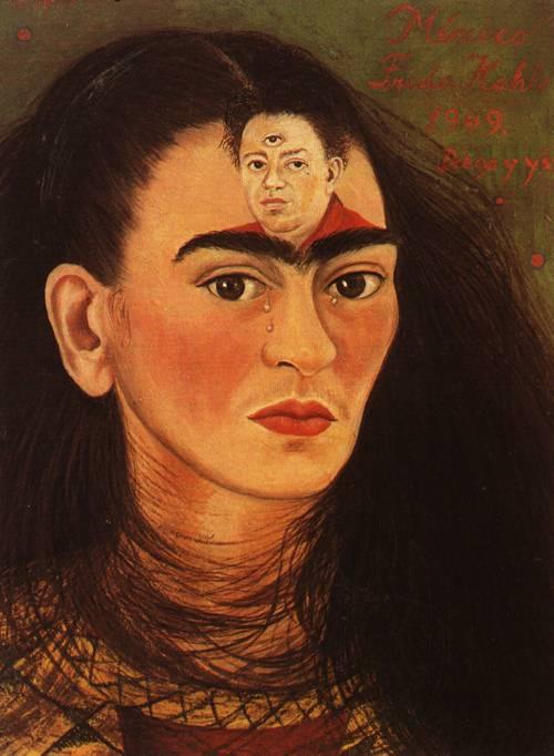 Frida Kahlo , Diego y Yo , 1949