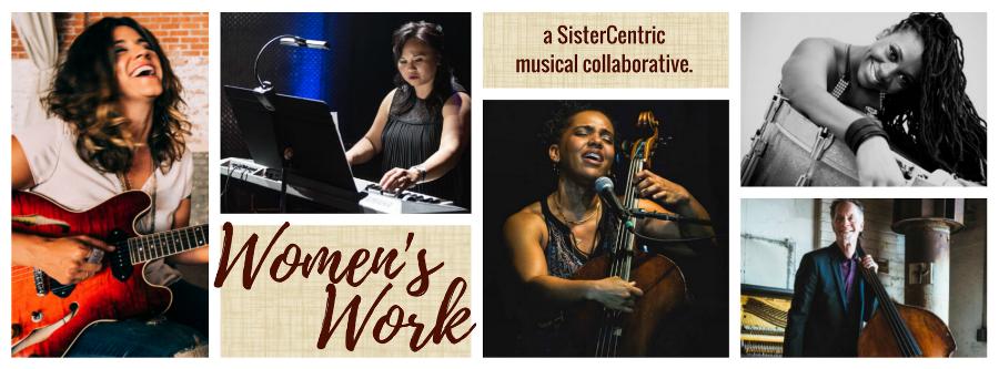 WOMEN'S WORK is (L to R): Steph Johnson; Melonie Grinnell; Shana Tucker, Shirazette Tinnin, Rob Thorsen.