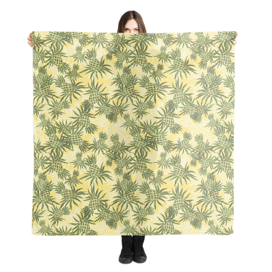 Pineapple Camo in Yellow
