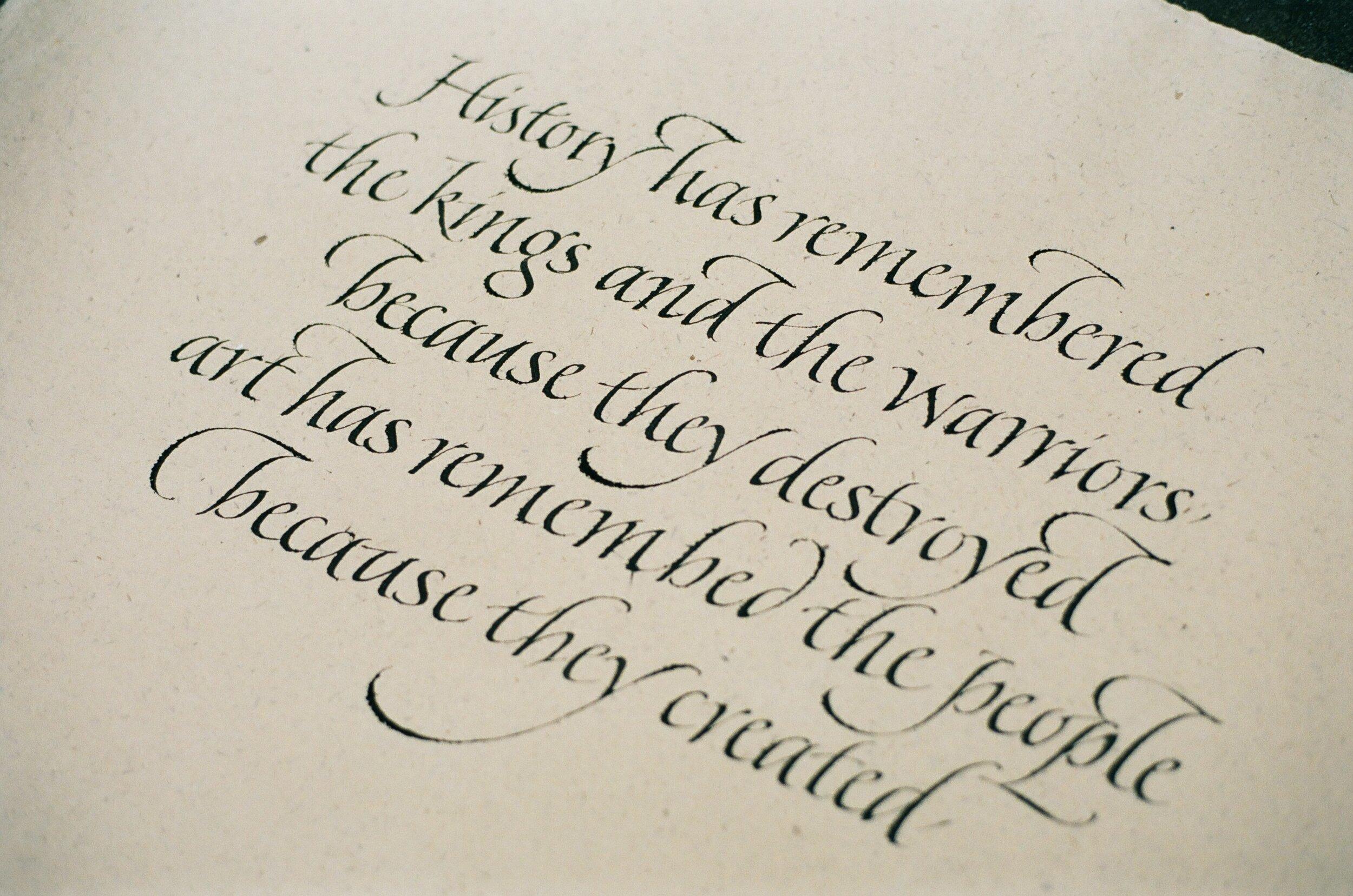Italic Correspondence Course -