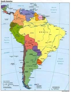 Área Sudamérica Noroeste