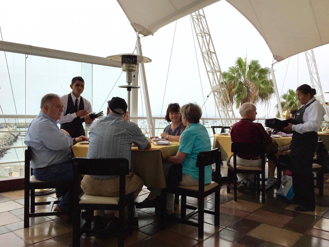 El Mirador restaurant at La Punta Marina