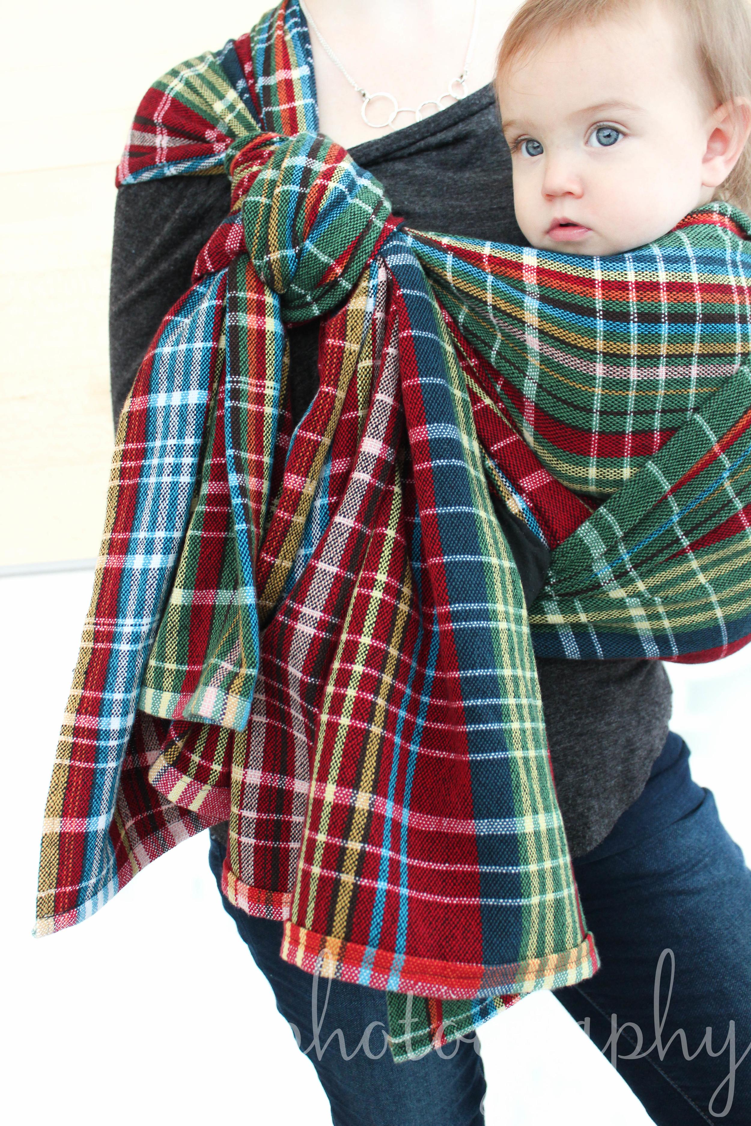 Good Night Moon Handwoven Babywearing Wrap   14 Mile Farm Handwoven Baby Wraps and Heirloom Textiles