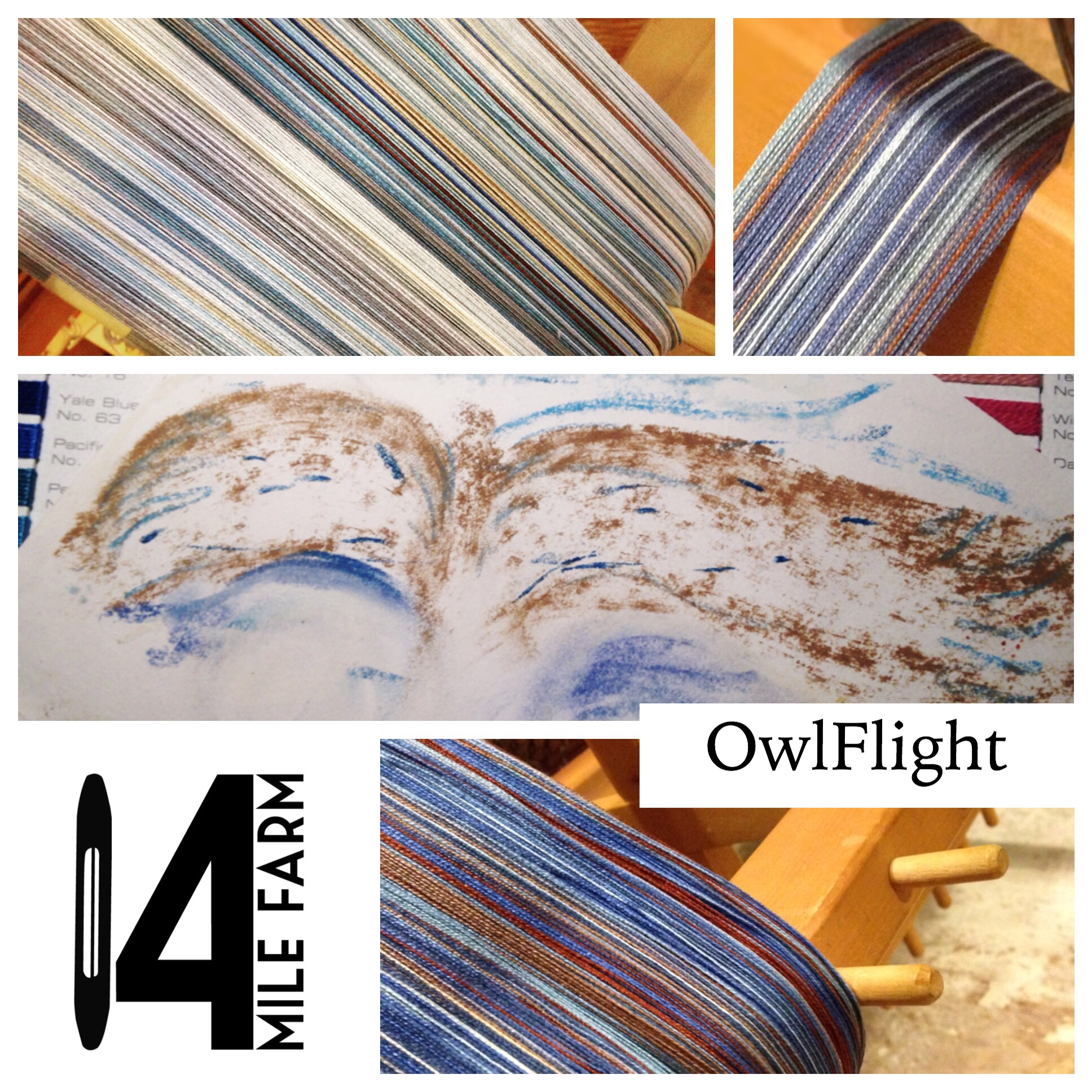 OwlFlight Babywearing Wrap | 14 Mile Farm Baby Wraps and Heirloom Textiles