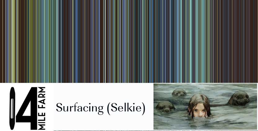 Surfacing : a handwoven baby wrap inspired by the legends of the Selkie | 14 Mile Farm Handweaving