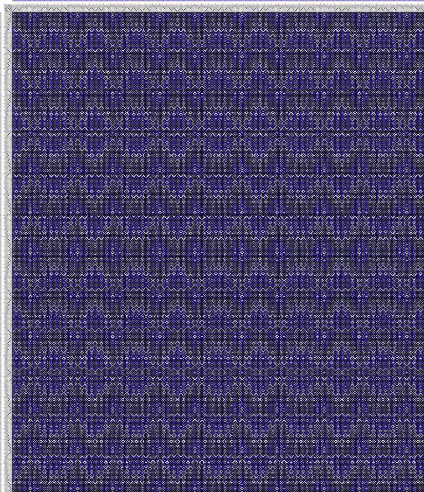 Handweaving.net CW108265, Crackle Design Project, Ralph Griswold, United States, 2004, #13482