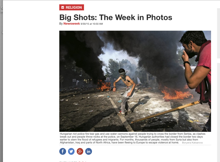 Newsweek Big Shots: The Week in Photos
