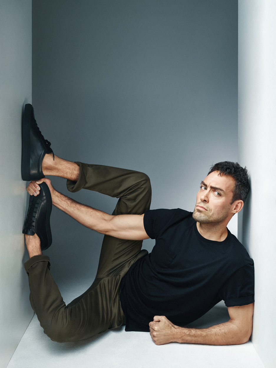 Alex Hassell for Tatler UK. Photo by Jay Brooks.
