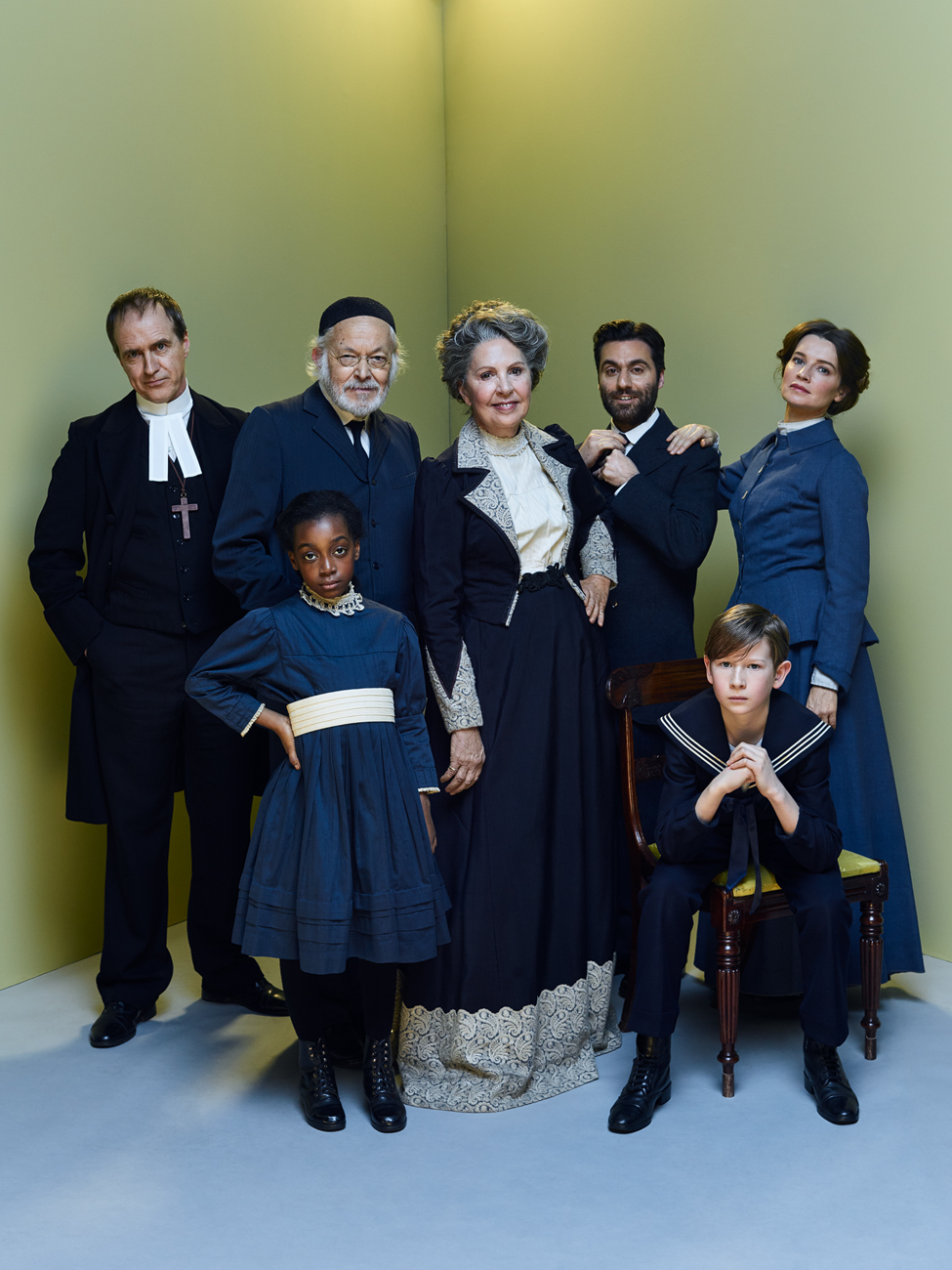 "The cast of The Old Vic's ""Fanny & Alexander"". Photo by Jay Brooks."