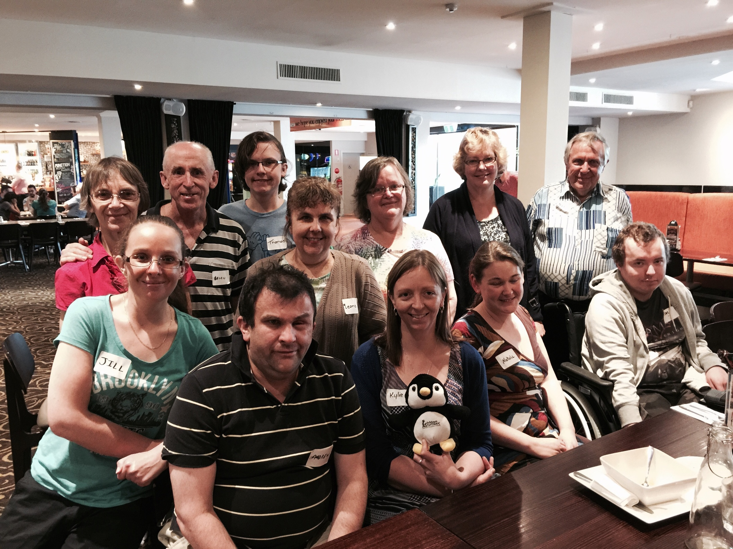 New Melbourne NF support group members.