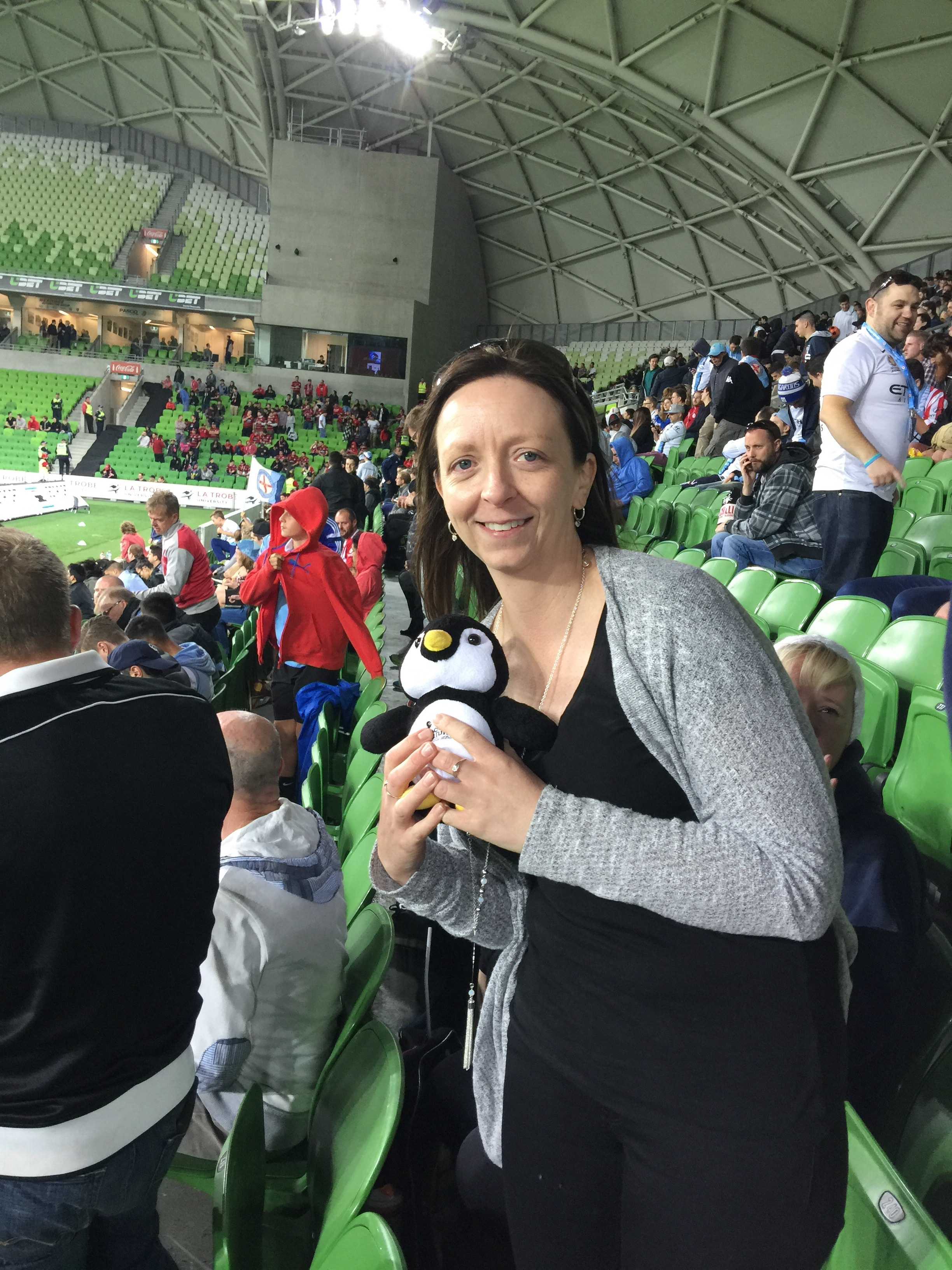 Sneaky and I Aami Park 13/11/15