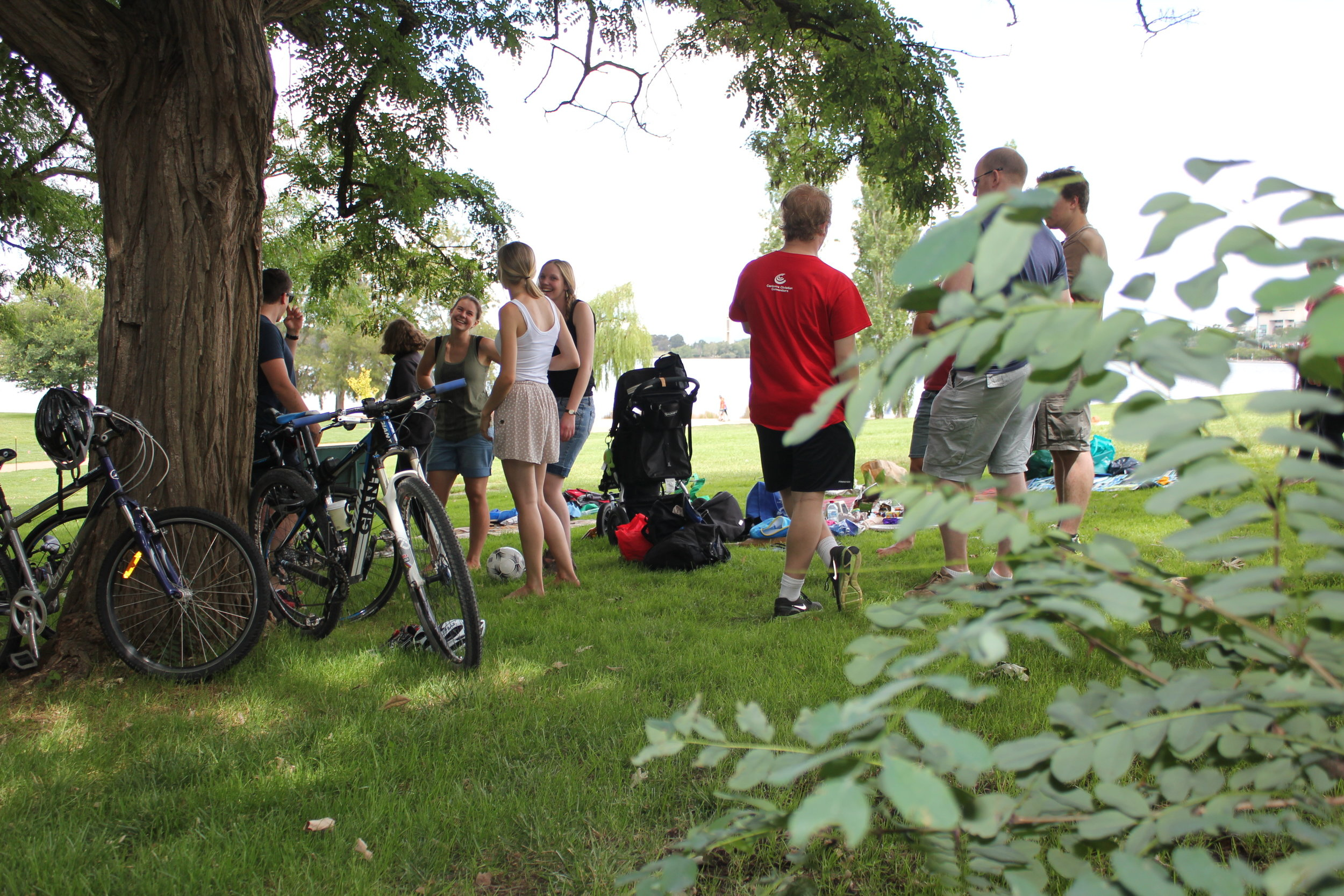 Bike ride and picnic 2013, photographer unknown (was this you??)