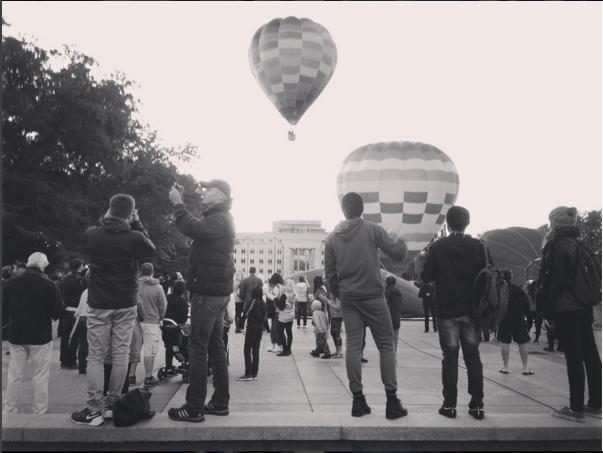 balloon festival, by anna flutsch