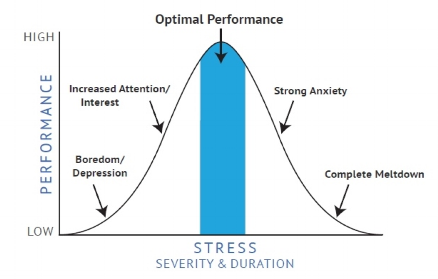 Some level of stress can be beneficial.
