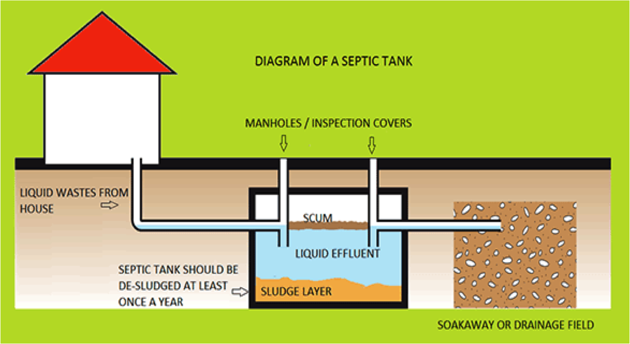 This septic tank image did make sense - ask lani to explain if you missed it!