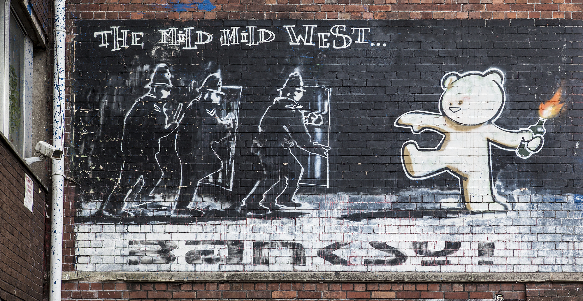 The Mild WIld West - Banksy