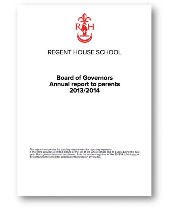 Board of Governors' Report 13/14