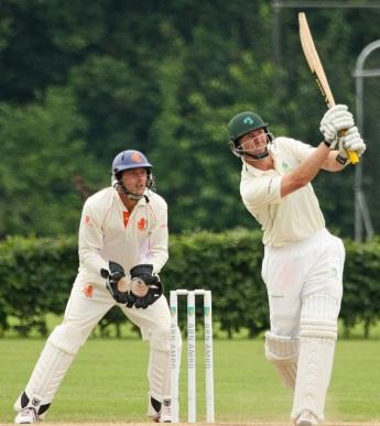 Former Regent House cricket captain, Andrew White