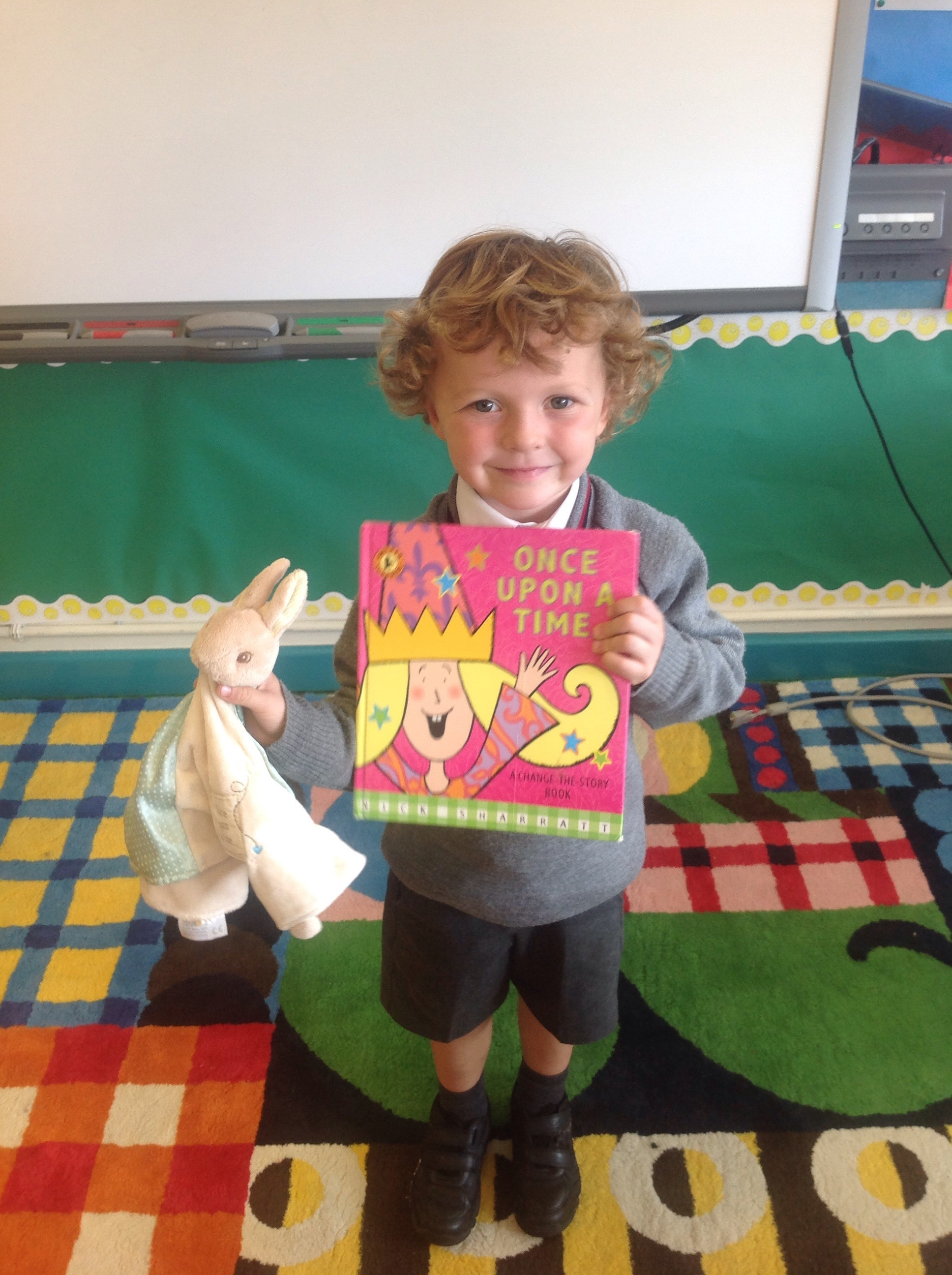 Oliver told us all about his favourite story as a baby!