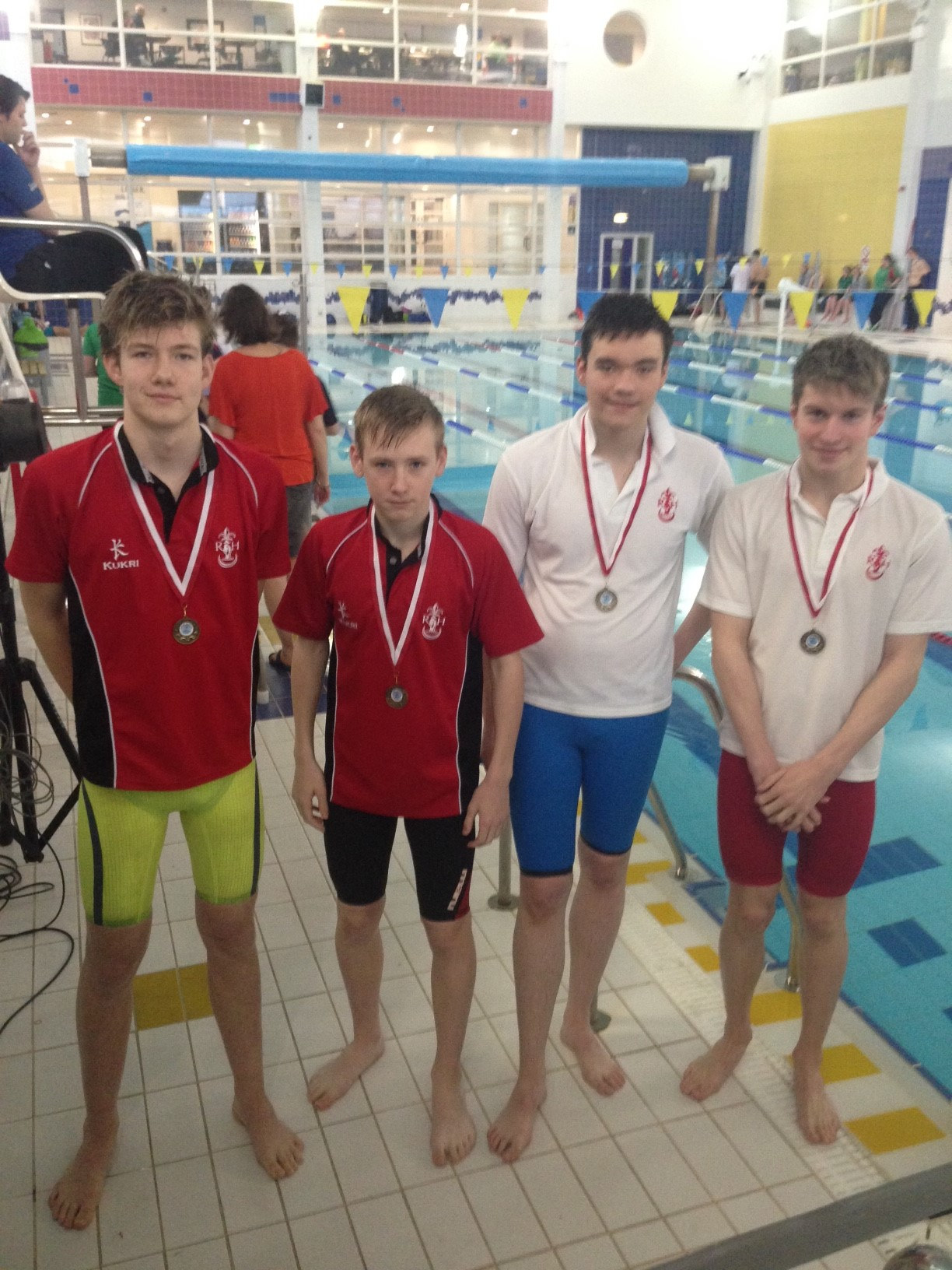 Intermediate Relay team came 1st in the Freestyle and the Medley relays.JPG