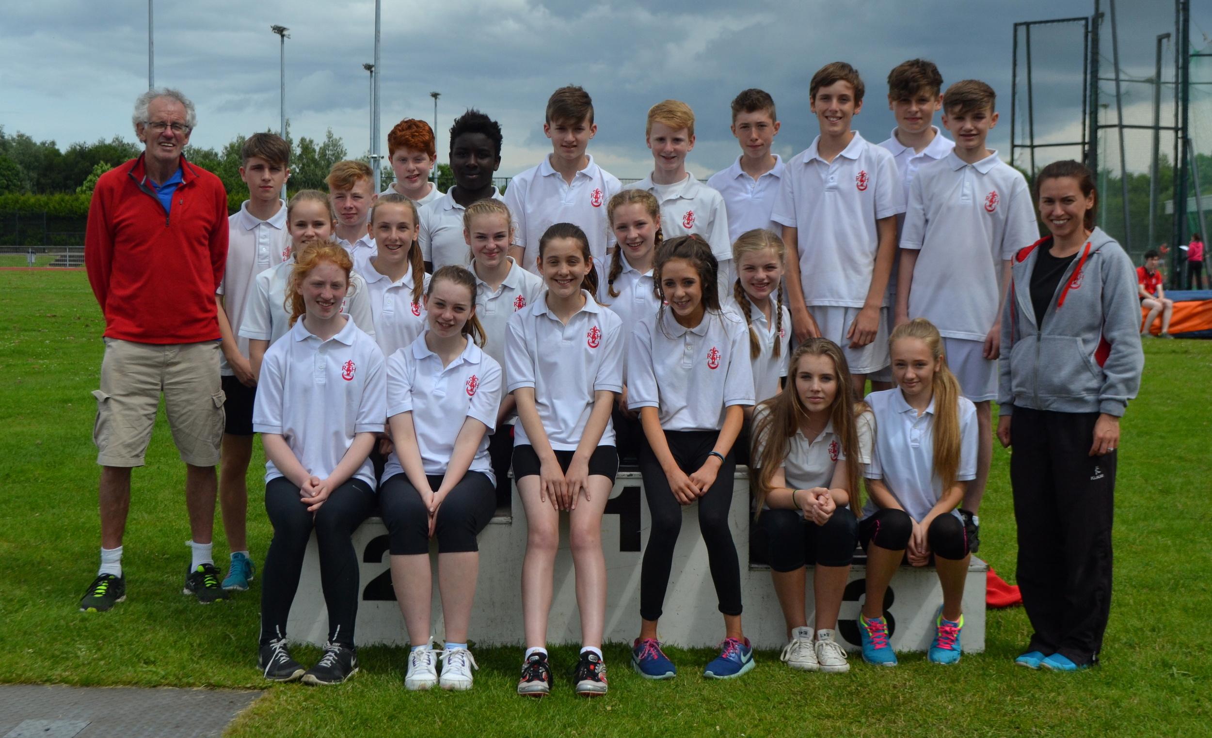 Minor Athletics team (year9).JPG