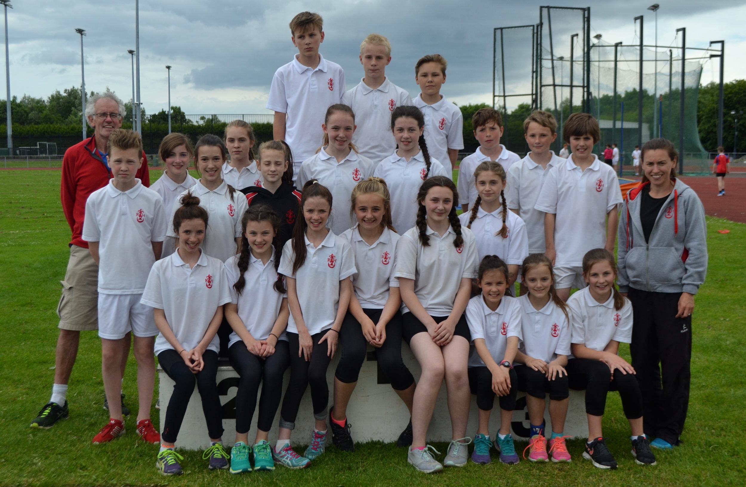 Mini Athletics team (Yr8).JPG