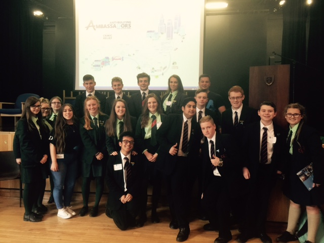 Pupil's from RHS who attended the event