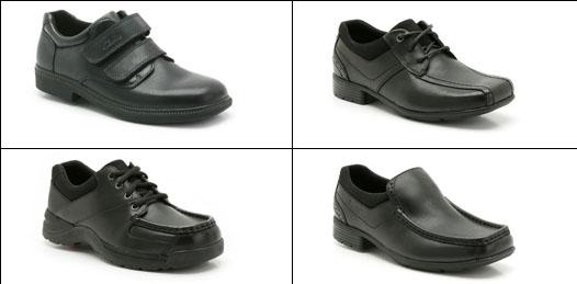Boys shoe examples