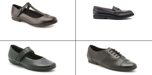 Girls shoe examples