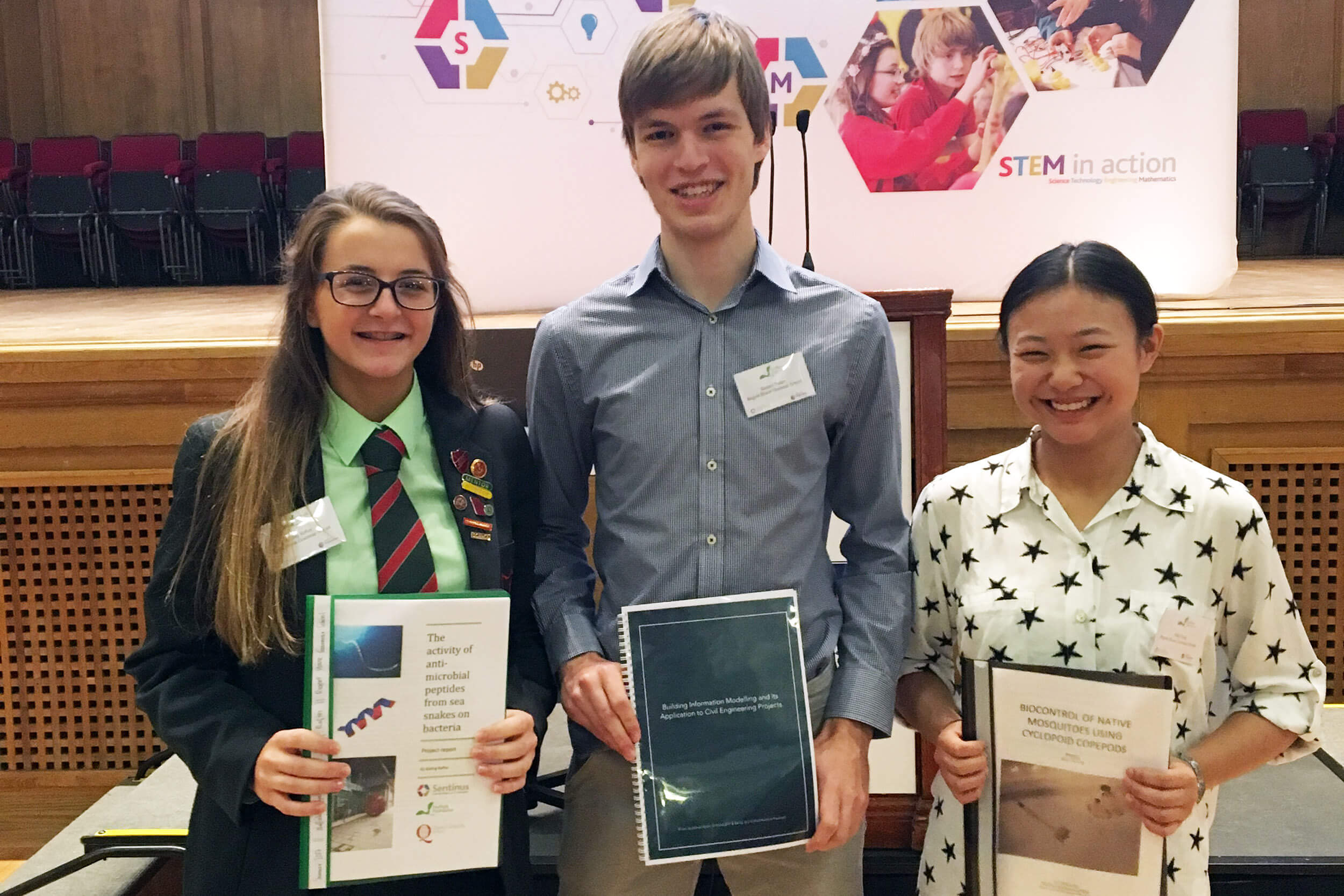Students on a Nuffield Foundation Placement