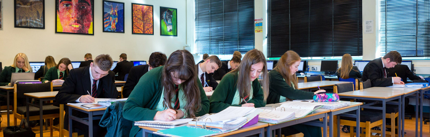Sixth Form Students in Class