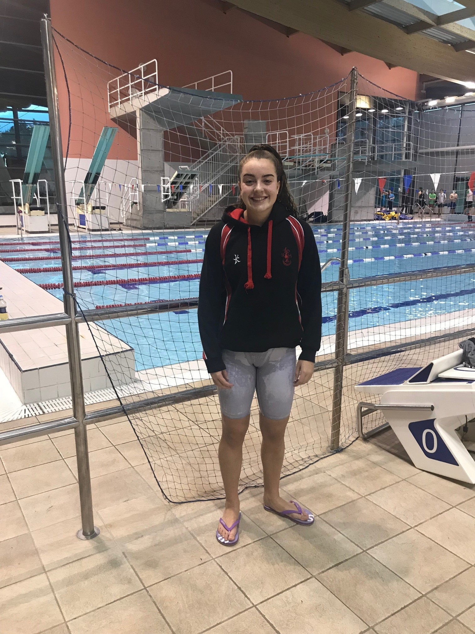 Naeve Poutney reached the finals of the Intermediate 100m Backstroke.jpg