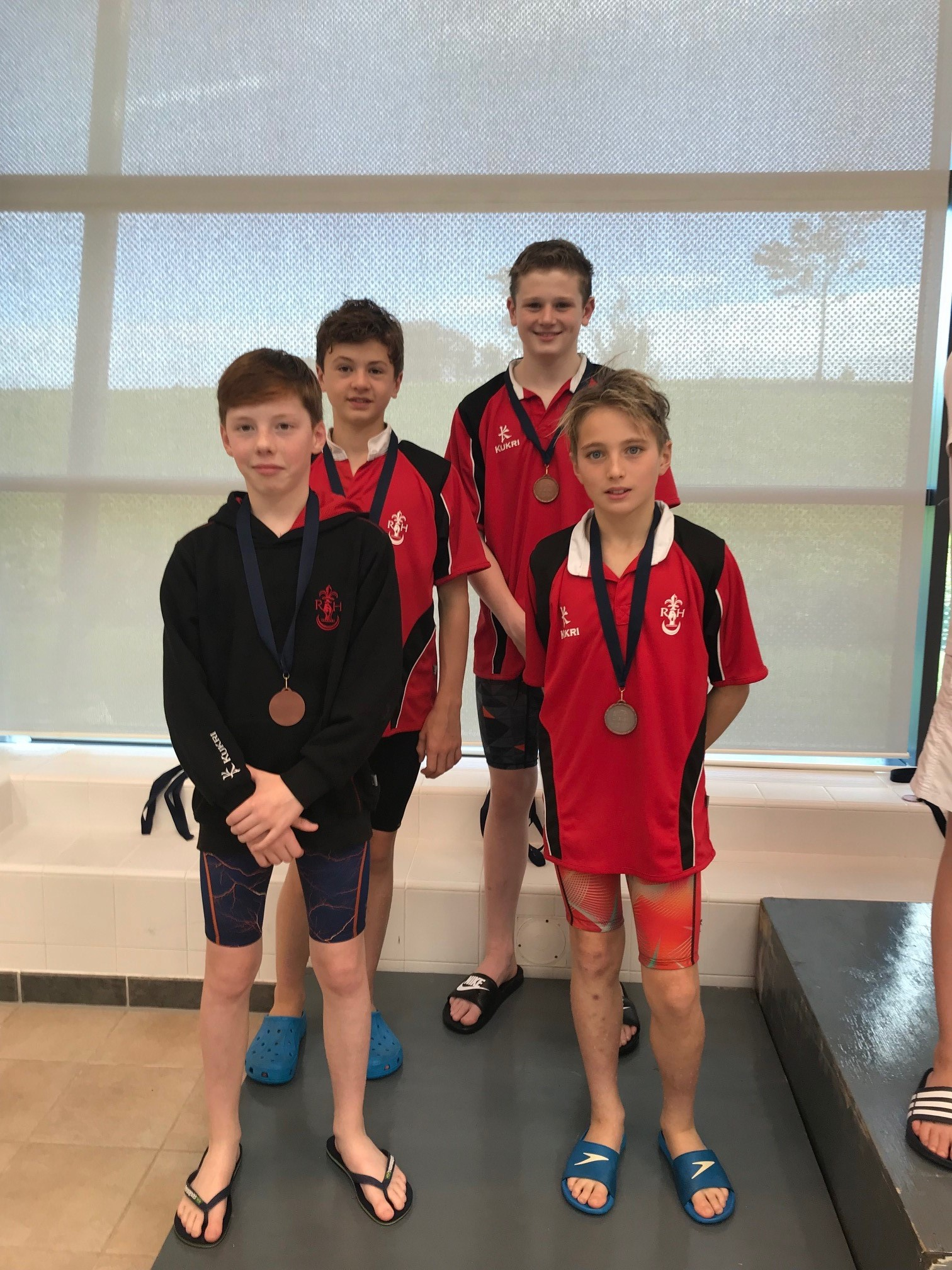 The Junior Boys Relay Team came 3rd in the Freestyle Team Relay.jpg