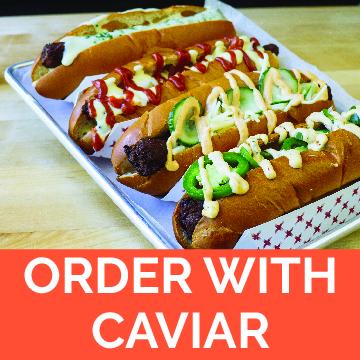 saus boston order online caviar