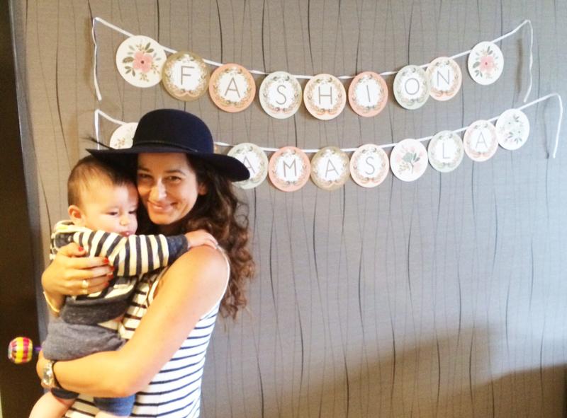 Wildly talentedjewelry designer  Ariel Gordon  with her beautiful boy.