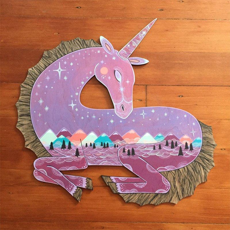 """""""The Last Unicorn"""" by Christine Della Cioppa"""