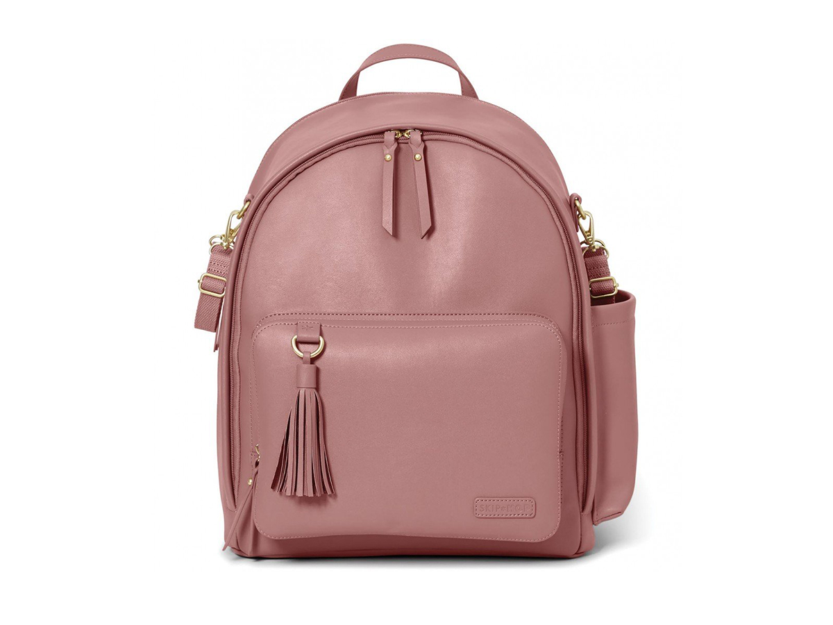 Skip Hop Greenwich Simply Chic Diaper Backpack in Dusty Rose , $100
