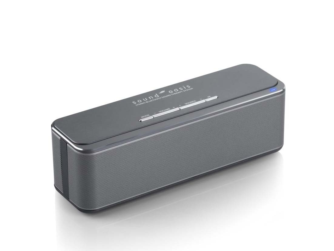 Sound Oasis Stereo Bluetooth Sleep Sound Therapy System, $130