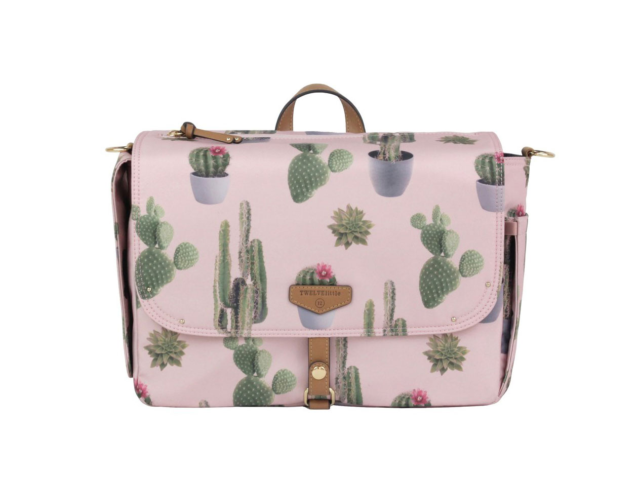 TWELVElittle On-The-Go Stroller Caddy in Cactus Print, $118