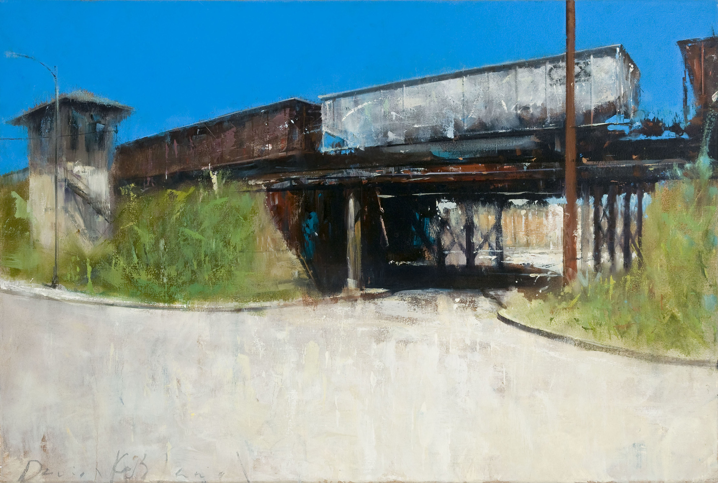 "Trestle  24"" x 36"" Oil on Canvas  (SOLD)"