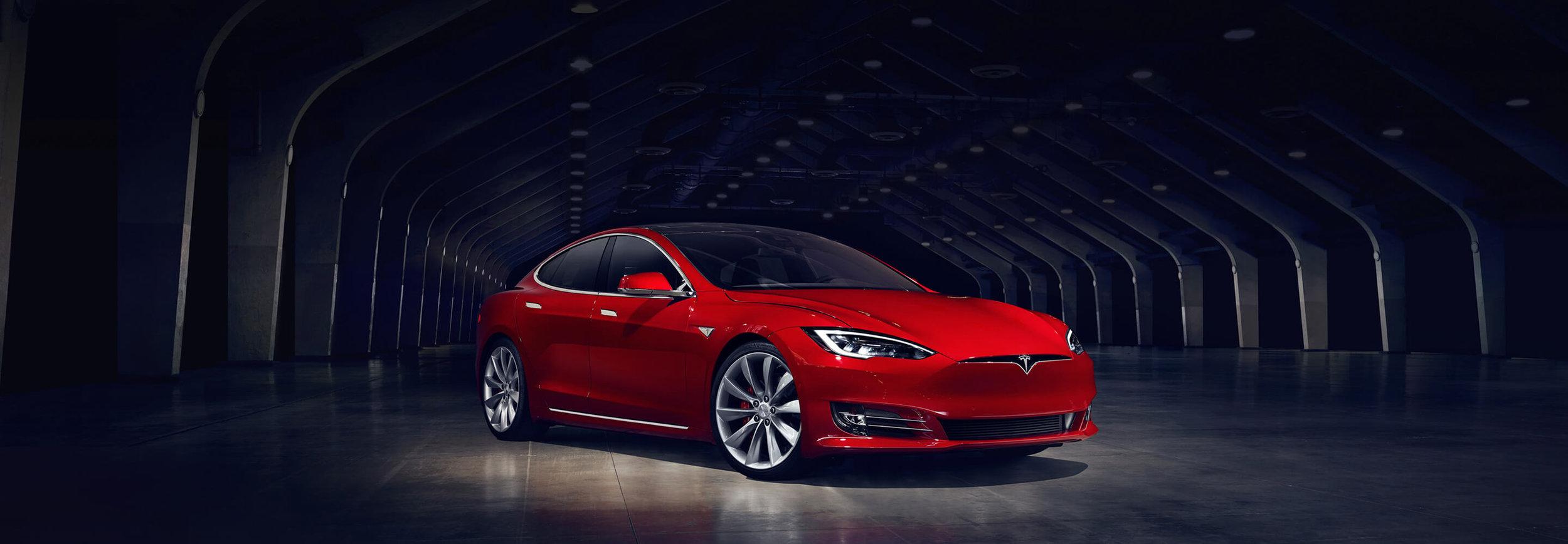 국내에 올해부터 판매될 테슬라 모델 S.