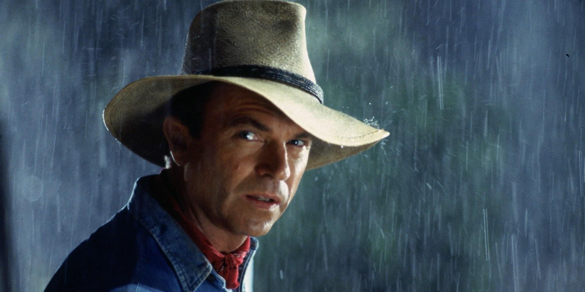 <쥬라기 공원>에서 앨런 그랜트로 출연했던 샘 닐.