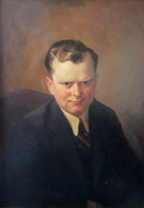 Nicholas Bervinchak portrait by Paul Daubner 1933