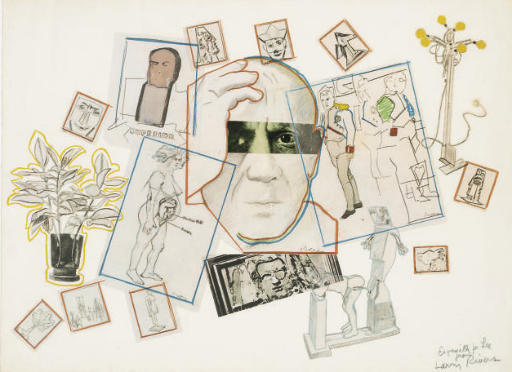 Hommage to Picasso, 1974.