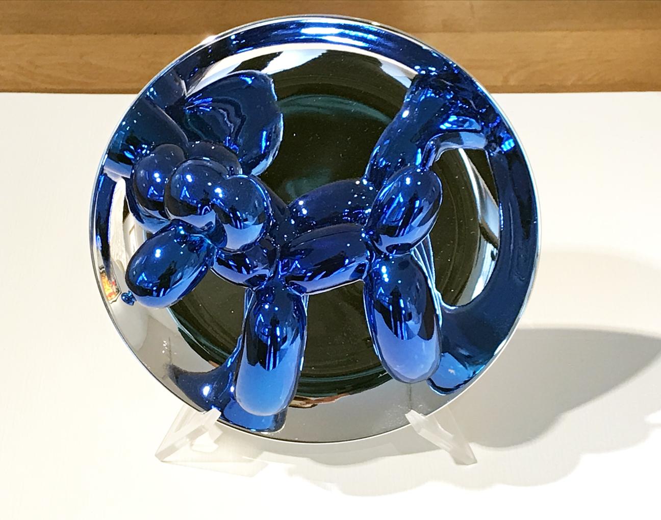 14.Jeff Koons. Balloon Dog Plate, 2002. Fine Porcelain, ed. 2002/2300, 10 ½ x 10 ½ x 5 in.