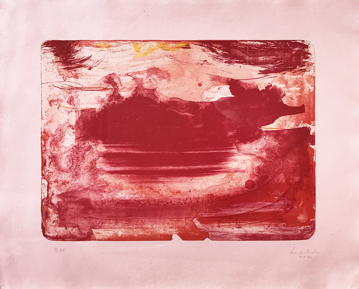 Helen Frankenthaler. Red Sea, 1978-82