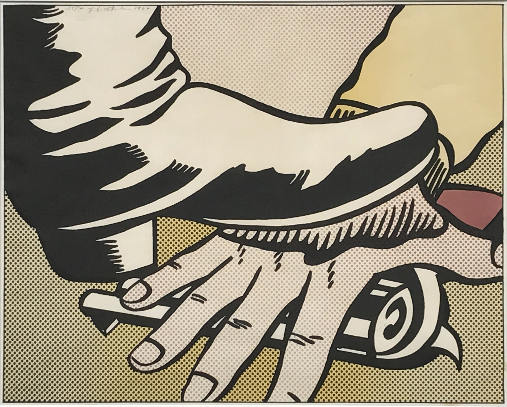 Roy Lichtenstein. Foot and Hand, 1964.