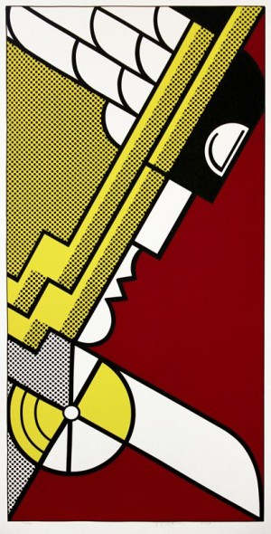 Roy Lichtenstein. Salute to Aviation, 1968.